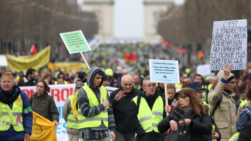 """DIRECT. """"Gilets jaunes"""" : sept personnes interpellées à Paris en marge de la manifestation"""