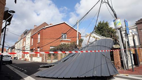 Vents violents : 11 000 foyers sans électricité dans les Hauts-de-France