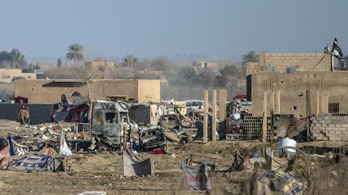 DOCUMENT FRANCE 2. A Baghouz, sur la trace des derniers combattants du groupe Etat islamique en Syrie