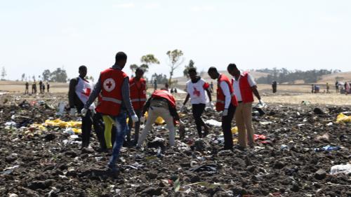 Crash d'un avion de ligne en Ethiopie : neuf Français se trouvent parmi les victimes