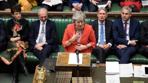 """DIRECT. Brexit : l'accord de divorce rejeté par les députés était """"le seul et meilleur accord possible"""", regrette Theresa May"""