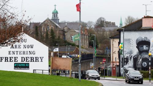 Dans la ville du Bloody Sunday, le Brexit réveille les fantômes du conflit nord-irlandais