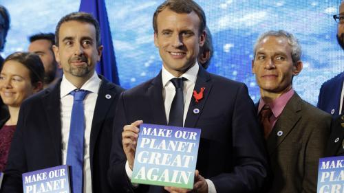 """VIDEO. """"Pour moi, c'est un pont d'or"""" : des lauréates vantent les mérites du concours """"Make our planet great again"""""""