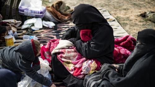 La France a rapatrié aujourd'hui de Syrie cinq enfants de jihadistes