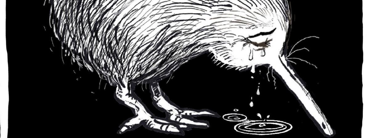 Dessin de l\'illustrateur Yeo en hommage aux victimes des attentats de Christchurch (Nouvelle-Zélande), publié le 15 mars 2019.