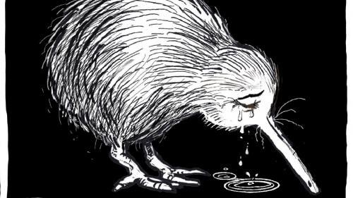 Attentats à Christchurch : un kiwi en pleurs, symbole d'une Nouvelle-Zélande en deuil