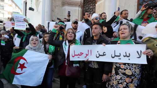 DIRECT. Algérie : des centaines de milliers de manifestants à Alger, des pancartes brandies contre la France et Macron