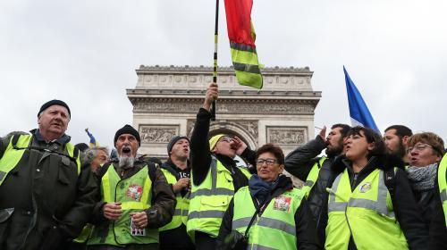 """INFOGRAPHIES. Manifestants, blessés, interpellations, enquêtes... Quatre mois de mouvement des """"gilets jaunes"""" résumés en chiffres"""