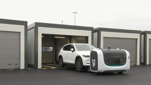 Innovation : à l'aéroport de Lyon Saint-Exupéry, les robots garent les voitures