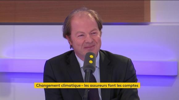 Bertrand Labilloy, directeur général de CCR, le 15 mars 2019 sur franceinfo.