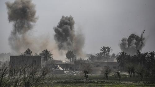 Photo Hebdo : assaut final à Baghouz, report du Brexit, boycott du Boeing 737 Max... Les images qui ont fait l'actualité de la semaine