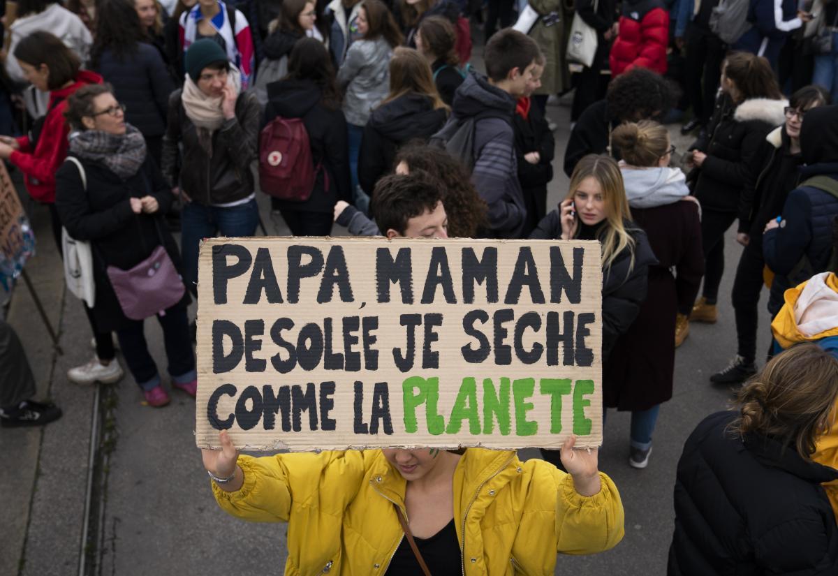 EN IMAGES. La grève mondiale pour le climat, de Paris à Hong-Kong