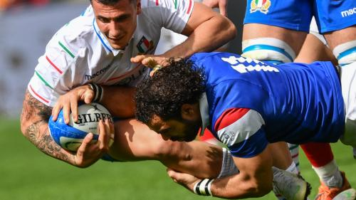 Tournoi des six nations : le XV de France s'impose péniblement face à l'Italie 25-14