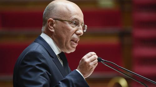 """""""Christophe Castaner a perdu toute crédibilité pour occuper ses fonctions"""", juge Éric Ciotti (LR)"""