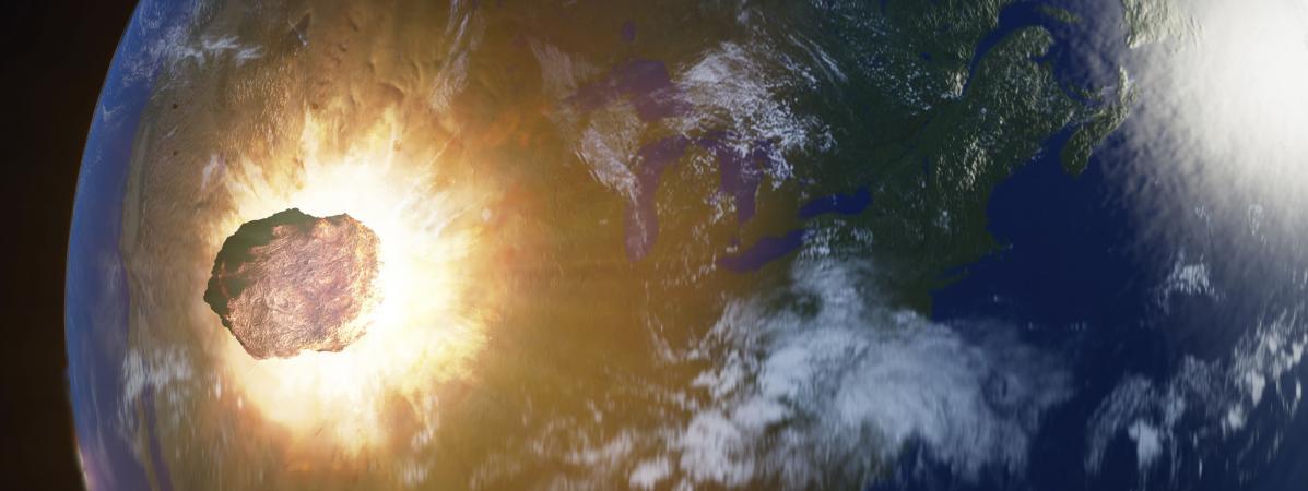 Une énorme explosion de météore détectée par la Nasa en décembre