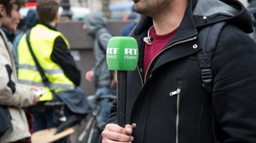 """La chaîne RT France porte plainte pour """"menaces de mort"""""""