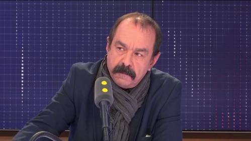 """VIDEO. """"Nous devenons un pays de bas salaires"""", déplore Philippe Martinez"""