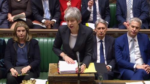 Brexit : Theresa May demande un délai à Bruxelles