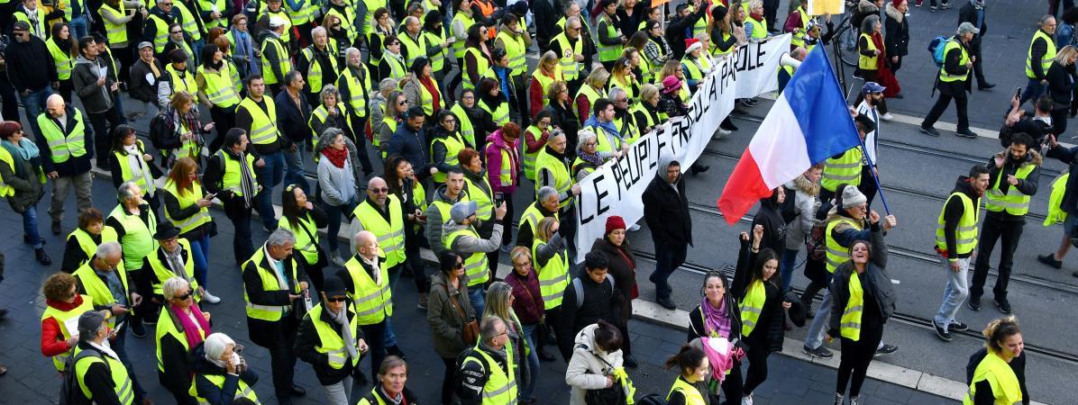 """""""Gilets jaunes"""" : le gouvernement va interdire les manifestations du week-end prochain à Nice"""