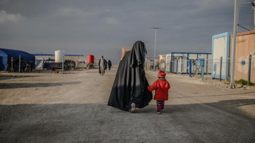 """""""C'est une course contre la mort"""": des familles d'enfants français emprisonnés au Kurdistan syrien en appellent aux députés"""
