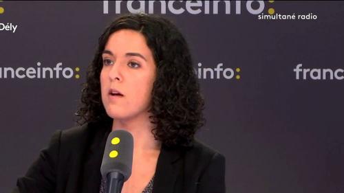 """VIDEO. """"Gilets jaunes"""" : Manon Aubry enjoint au ministre de l'Intérieur d'""""arrêter les casseurs"""" puisqu'il les """"connaît"""""""
