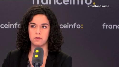"""VIDEO. """"Puisque l'Europe s'occupe de notre quotidien, à nous de nous en occuper"""", juge Manon Aubry"""