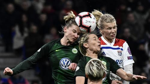 Football : court succès (2-1) des féminines de Lyon sur Wolfsbourg en Ligue des champions