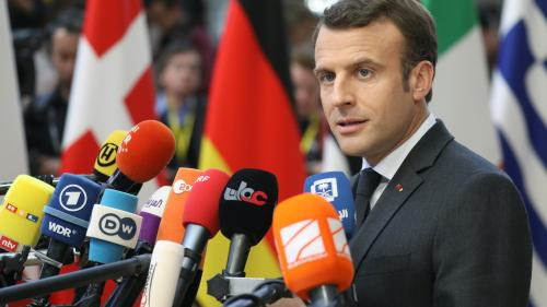 """DIRECT. Brexit : Macron se dit """"tout à fait ouvert"""" à un report """"le plus court possible"""" de la date de départ du Royaume-Uni"""