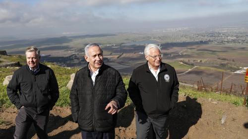 Donald Trump veut reconnaître la souveraineté d'Israël sur le Golan