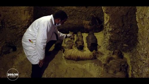 VIDEO. La malédiction des pharaons ne serait donc qu'une simple affaire de microbes ?