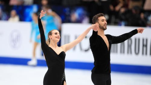 Patinage artistique : le couple Papadakis-Cizeron échoue aux championnats d'Europe