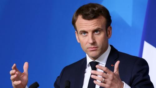 """VIDEO. Emmanuel Macron : """"En aucun cas, l'armée n'est en charge du maintien de l'ordre"""""""