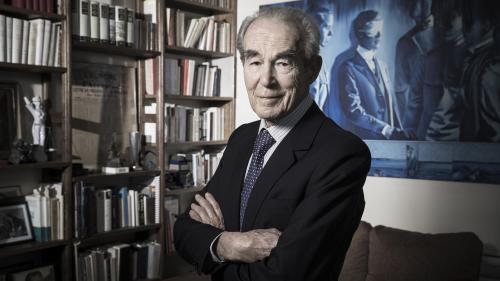 """""""Il a toujours été un combattant de l'abolition de la peine de mort"""", réagit Robert Badinter après la mort de Jacques Chirac"""