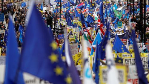 Brexit : la pétition réclamant le maintien du Royaume-Uni dans l'UE dépasse les cinq millions de signatures