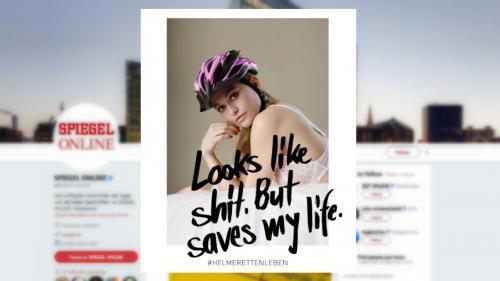 Allemagne : une publicité pour le casque à vélo accusée de sexisme