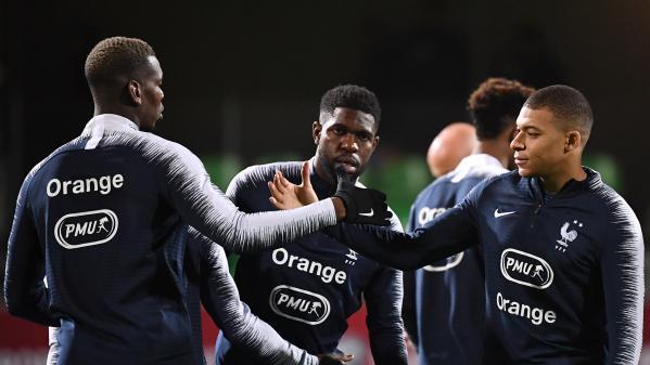 Qualifications pour l'Euro 2020 : la France ouvre le score face à l'Islande (1-0) grâce à un but d'Umtiti. Commentez le match avec francetv sport