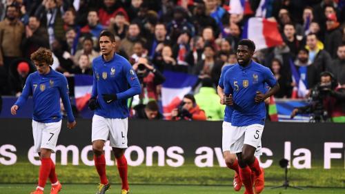 Qualifications pour l'Euro 2020 : la France mène 3-0 face à l'Islande. Commentez le match avec francetv sport