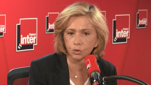 """Européennes: François-Xavier Bellamy, """"quelqu'un de bien"""" qui """"doit rassembler autour de lui"""", selon Valérie Pécresse"""