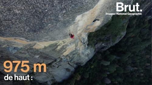 "VIDEO. Sans équipements, le grimpeur Alex Honnod escalade ""El Capitan"""