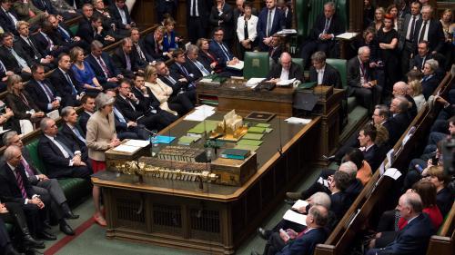 Brexit: les députés britanniques rejettent une troisième fois le traité de sortie avec l'UE