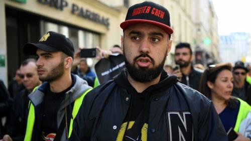 """""""Gilets jaunes"""" : Eric Drouet condamné à 2 000 euros d'amende, dont 500 avec sursis, pour avoir organisé des manifestations non déclarées"""