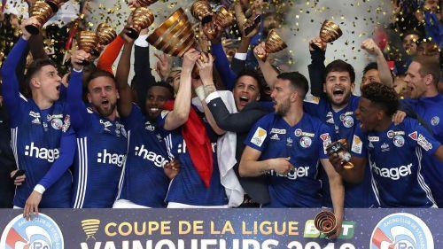 """Coupe de la Ligue : """"Même si c'était pas un grand match, à la fin on retiendra que le vainqueur, c'est Strasbourg !"""""""