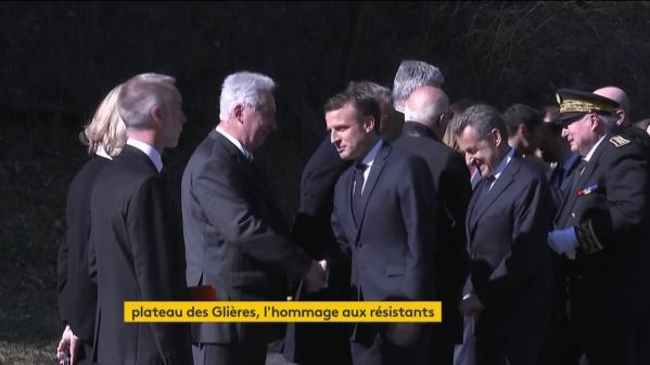 DIRECT. Emmanuel Macron et Nicolas Sarkozy rendent hommage aux résistants du plateau des Glières