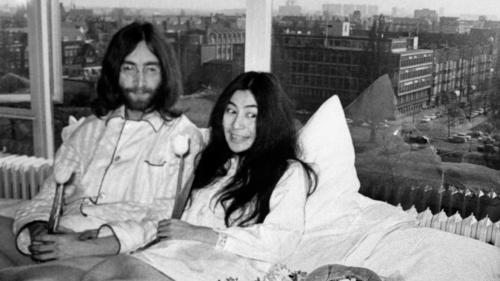 VIDEO. Des images oubliées de John Lennon et Yoko Ono refont surface
