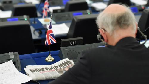 """""""Partir est un déchirement"""" : la déprime des eurodéputés britanniques anti-Brexit, sur le point de quitter Strasbourg"""