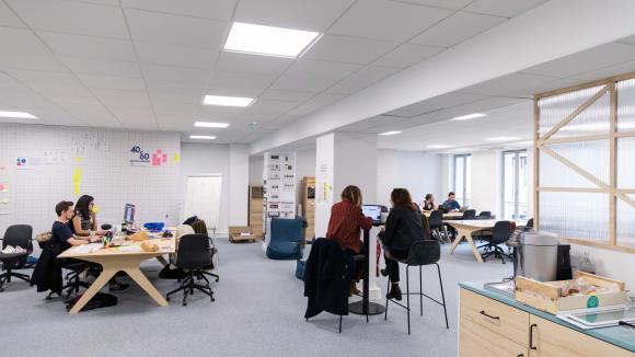 Le bureau individuel fermé préféré à l open space par une majorité