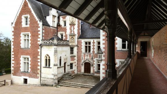 Le château du Clos Lucé (Indre-et-Loire), où Léonard de Vinci a passé les trois dernières années de sa vie.