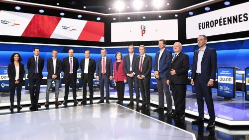 VIDEOS. Européennes : les six séquences qu'il ne fallait pas rater pendant le premier débat des têtes de listes
