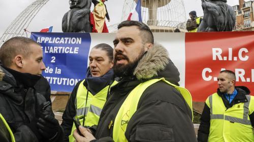 """Éric Drouet et sa mère verbalisés près des Champs-Elysées : """"une pure opération de communication"""", selon son avocat"""