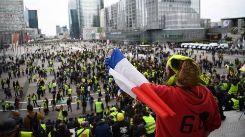 """DIRECT. La manifestation des """"gilets jaunes"""" a réuni 22 300 participants selon le ministère de l'Intérieur, la plus faible mobilisation depuis le début du mouvement"""